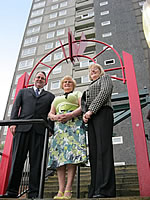 EDS helped residents at Sandown Court in Preston to secure a £3.3m grant for energy efficiency measures
